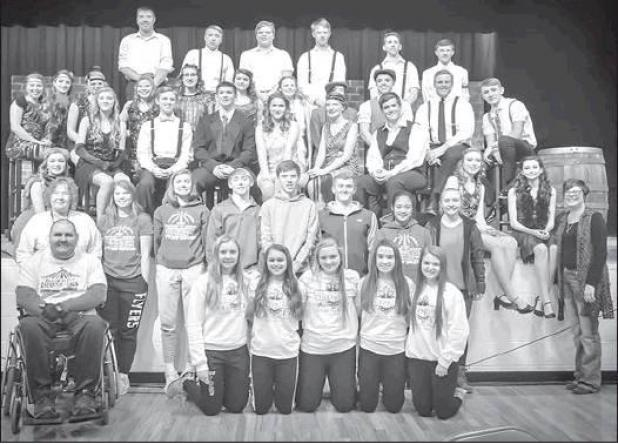 HSF one-act team 2nd at conference contest | Humphrey Democrat